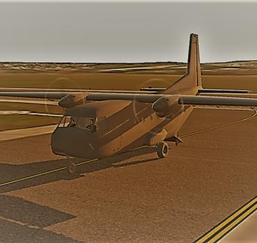 Aviocar em desenvolvimento