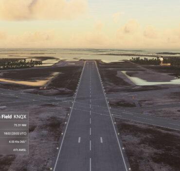 A primeira base aérea para Asobo MSFS