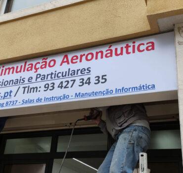 A nova casa do Centro de Simulação Aeronáutica