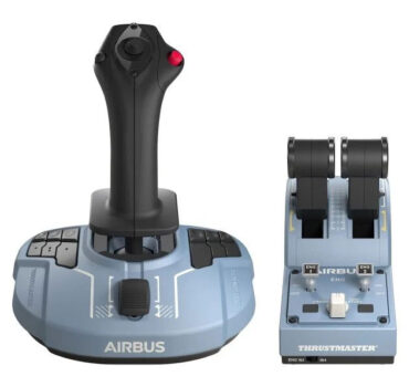 Thrustmaster TCA Sidestick Airbus Edition - Carlos Godinho Presidente da TAP Virtual