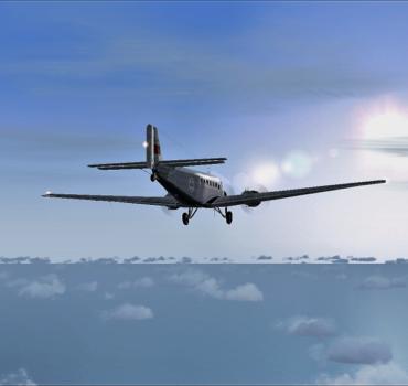 JU52 - Metal recria o vôo real até Sintra